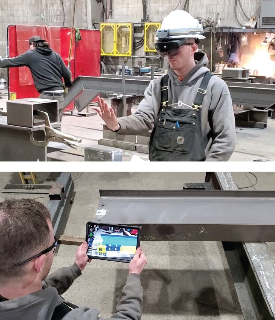 Structural Steel Augmented Reality